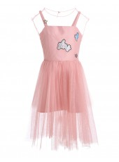 Комплект: верхнее платье + нижнее платье