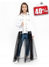 Комплект:ветровка + юбка