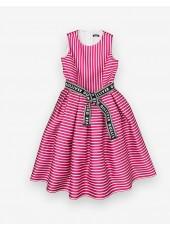 Платье c ремнем